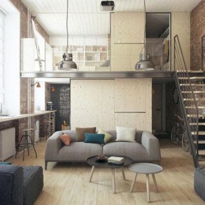 Высокие потолки в интерьере квартиры или дома - фото 2