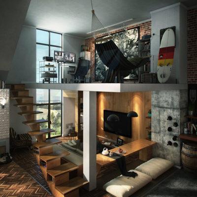 Высокие потолки в интерьере квартиры или дома - фото 4