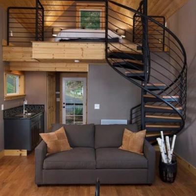 Высокие потолки в интерьере квартиры или дома - фото 7
