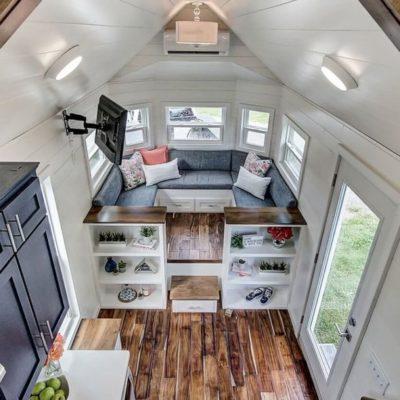 Высокие потолки в интерьере квартиры или дома - фото 13
