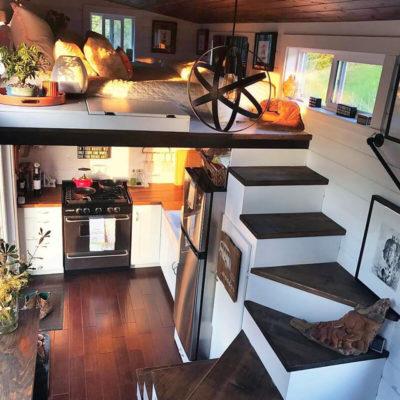 Высокие потолки в интерьере квартиры или дома - фото 14