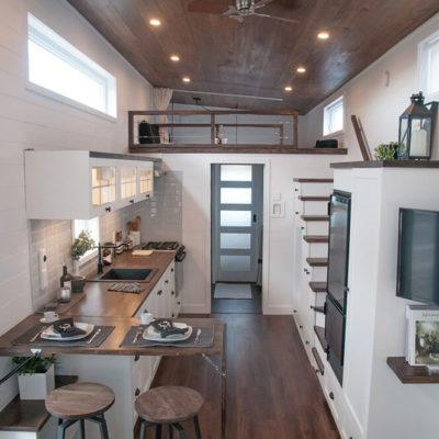 Высокие потолки в интерьере квартиры или дома - фото 15