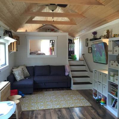 Высокие потолки в интерьере квартиры или дома - фото 16