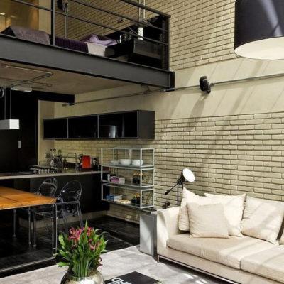 Высокие потолки в интерьере квартиры или дома - фото 23
