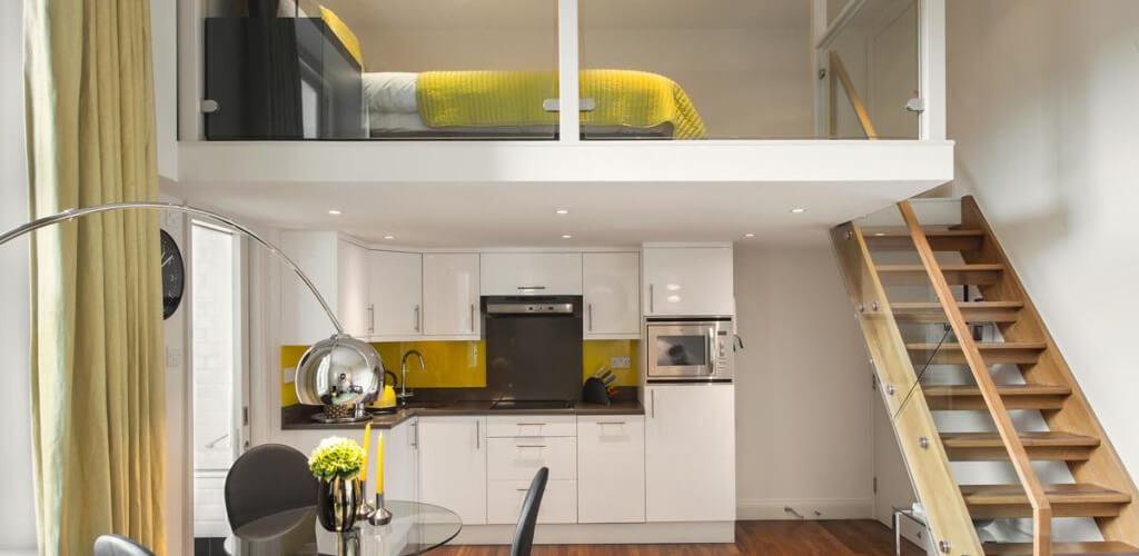 high ceilings in the interior 26 - Высокие потолки в интерьере квартиры или дома
