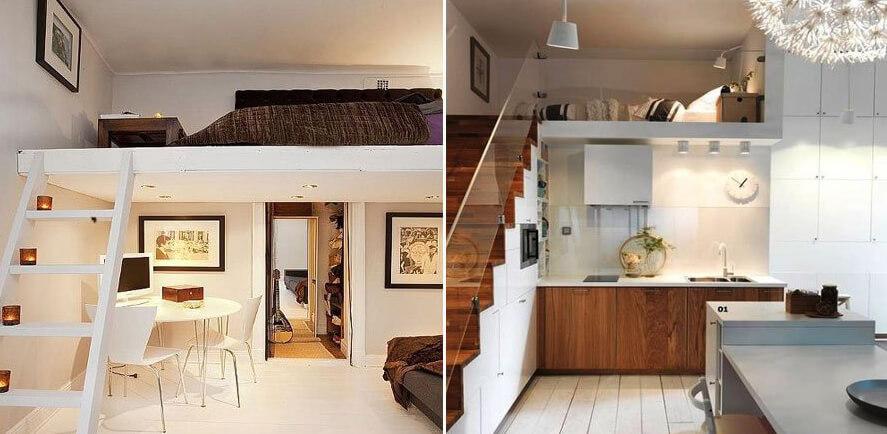 Дизайн двухярусной квартиры