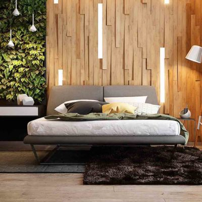 Изголовье кровати, как произведения искусства - фото 1
