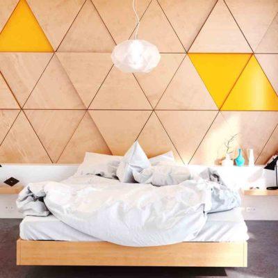 Изголовье кровати, как произведения искусства - фото 6