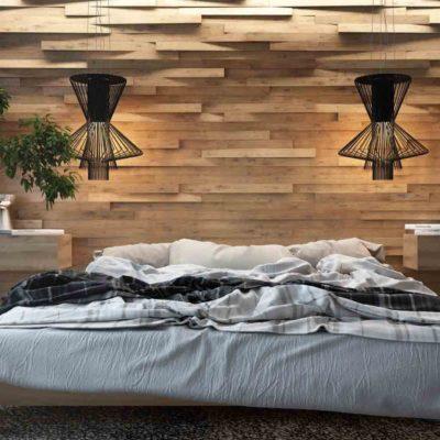 Изголовье кровати, как произведения искусства - фото 10