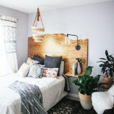 Изголовье кровати, как произведения искусства - фото 12