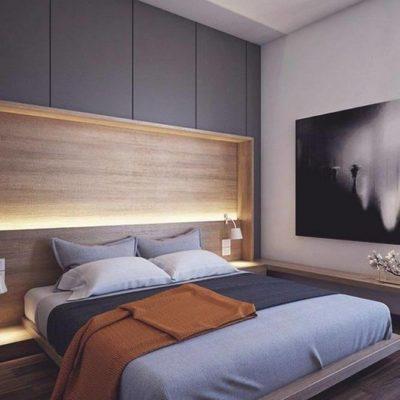 Изголовье кровати, как произведения искусства - фото 18