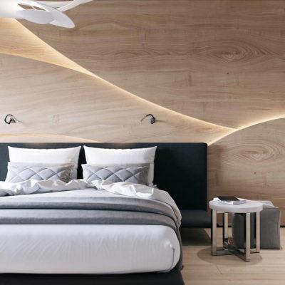 Изголовье кровати, как произведения искусства - фото 19