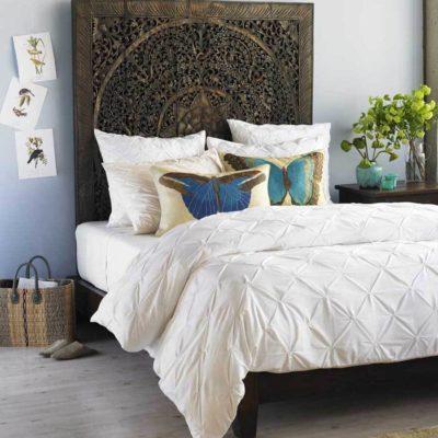 Изголовье кровати, как произведения искусства - фото 20