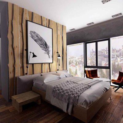 Изголовье кровати, как произведения искусства - фото 22