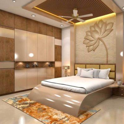 Изголовье кровати, как произведения искусства - фото 24