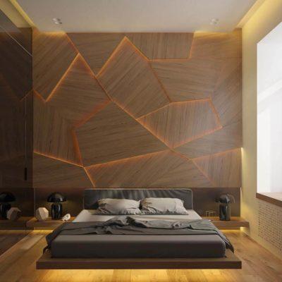 Изголовье кровати, как произведения искусства - фото 27