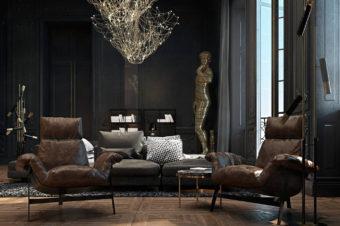 Скульптура в интерьере: изящный декор дома
