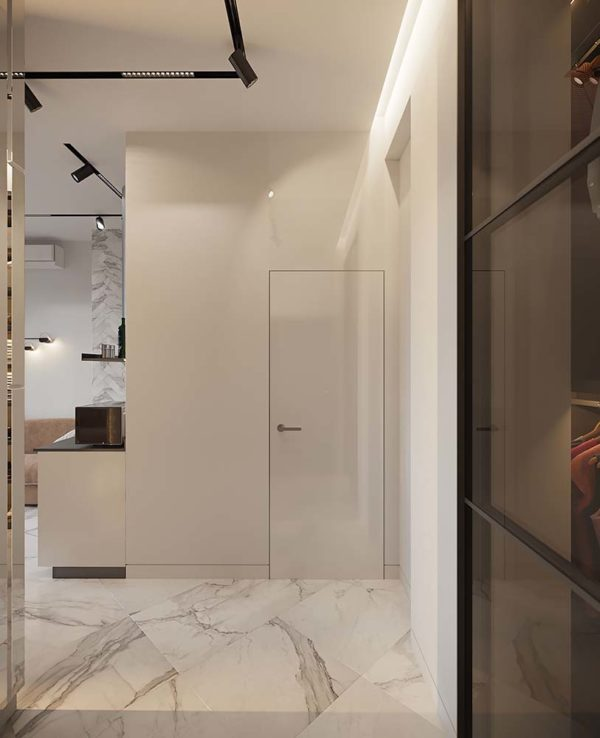 "Дизайн интерьера однокомнатной квартиры ""ЖК SAN FRANCISCO Creative House"" by NS INTERIOR DESIGN - фото 7"