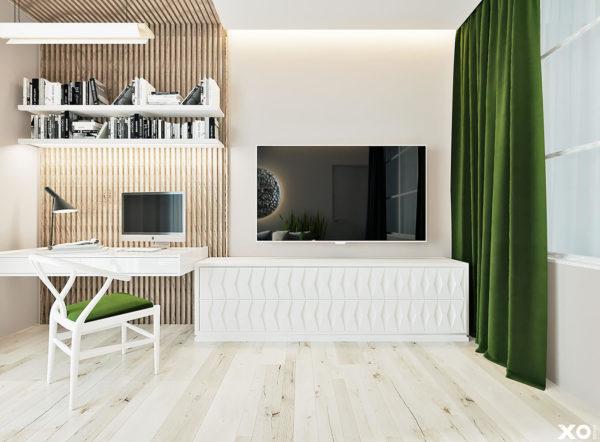"Дизайн интерьера двухкомнатной квартиры ""ЖК SPAS SKY минимализм"" by XO Design - фото 2"