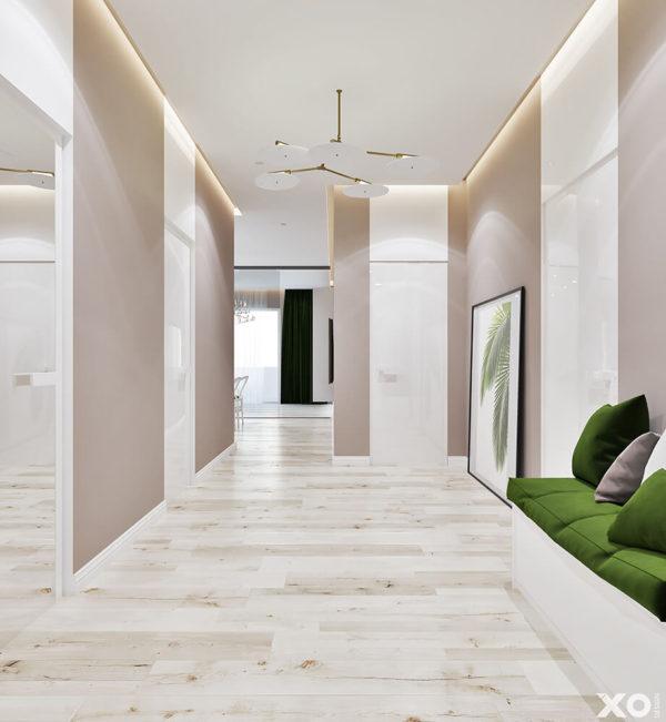 "Дизайн интерьера двухкомнатной квартиры ""ЖК SPAS SKY минимализм"" by XO Design - фото 11"