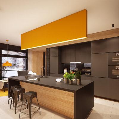 Кухня, стол и стулья