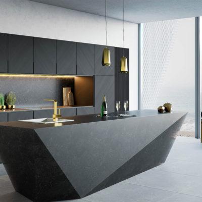 Интересый стол на кухне