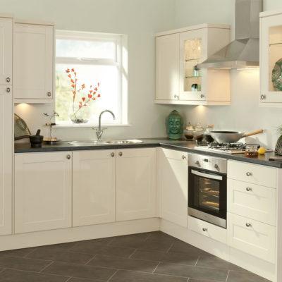 Угловой дизай кухни