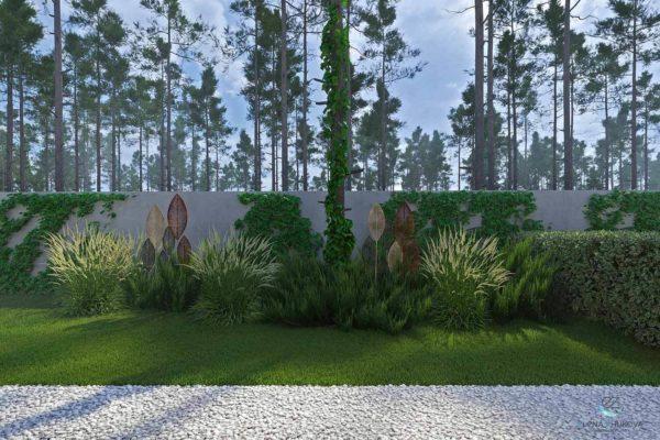 """3D визуализация ландшафта """"Минимализм в лесной зоне Плюты"""" by ElenaZhukova landscape studio - фото 6"""