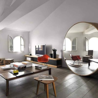 Зеркала в дизайне интерьера – виды, формы, идеи - фото 5
