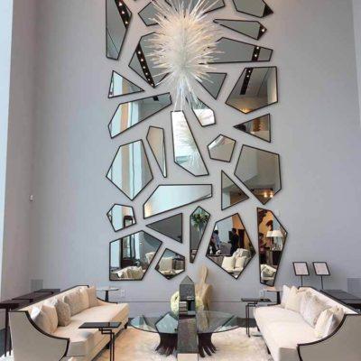 Зеркала в дизайне интерьера – виды, формы, идеи - фото 14