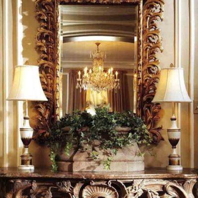 Зеркала в дизайне интерьера – виды, формы, идеи - фото 18