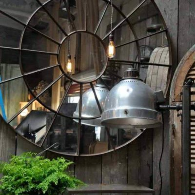 Зеркала в дизайне интерьера – виды, формы, идеи - фото 22