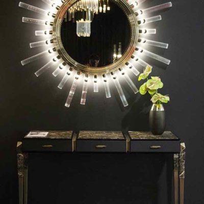 Зеркала в дизайне интерьера – виды, формы, идеи - фото 23