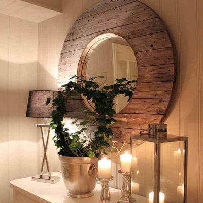 Зеркала в дизайне интерьера – виды, формы, идеи - фото 26