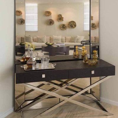 Зеркала в дизайне интерьера – виды, формы, идеи - фото 28