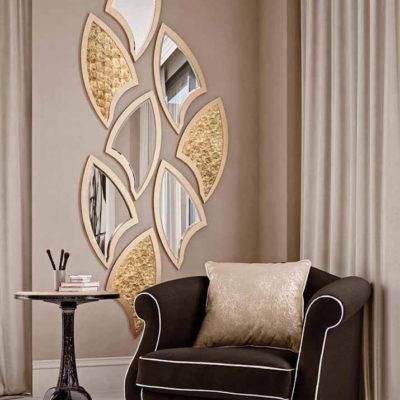 Зеркала в дизайне интерьера – виды, формы, идеи - фото 29