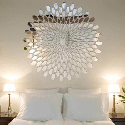 Зеркала в дизайне интерьера – виды, формы, идеи - фото 30
