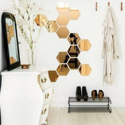 Зеркала в дизайне интерьера – виды, формы, идеи - фото 31
