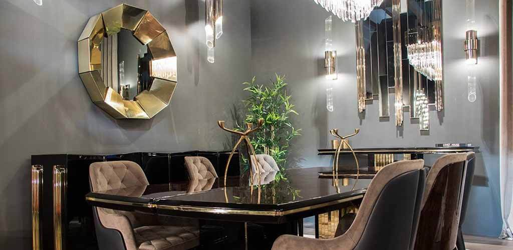 mirrors in interior design 38 - Зеркала в дизайне интерьера – виды, формы, идеи