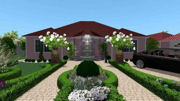 3D визуализация сада в марокканском стиле by Hedera - фото 1