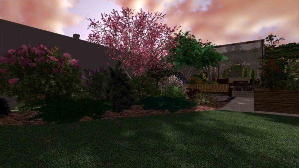 3D визуализация сада в марокканском стиле by Hedera - фото 5
