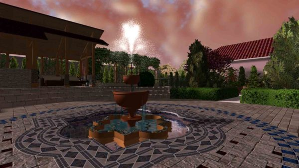 3D визуализация сада в марокканском стиле by Hedera - фото 6