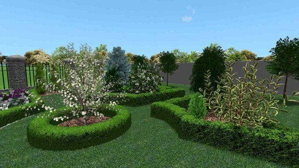 3D визуализация сада в марокканском стиле by Hedera - фото 8