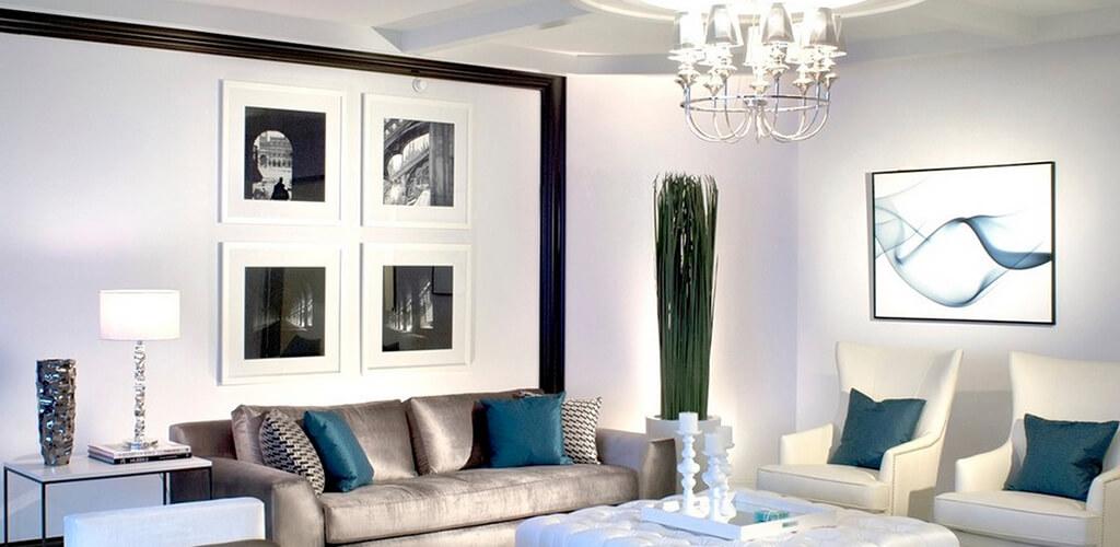 photo in interior - Фотографии в интерьере: правильное оформление настенной галереи