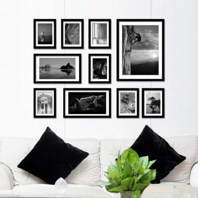 Фотоколлаж на стене