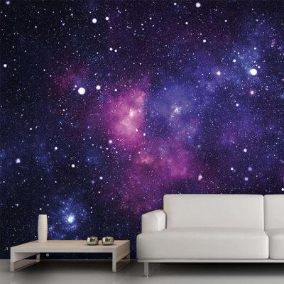 Фотообои в виде звездного неба