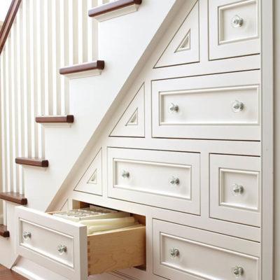 Пространство под лестницей: идеи использования с выгодой - фото 14