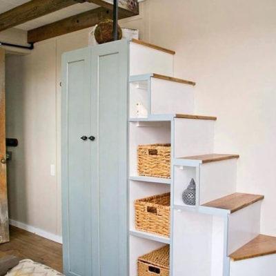 Пространство под лестницей: идеи использования с выгодой - фото 19