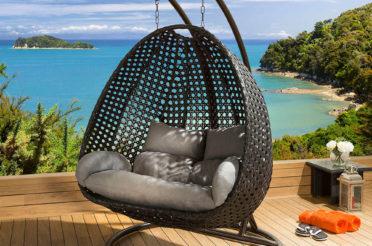Подвесное кресло в интерьере: уютный и стильный элемент мебели