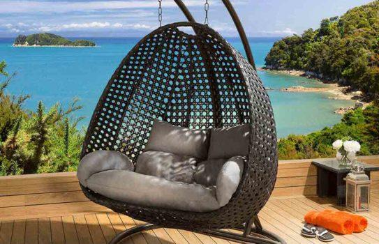 suspended chair img 01 543x350 - Подвесное кресло в интерьере: уютный и стильный элемент мебели